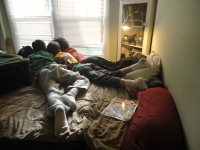 Boys on Bed
